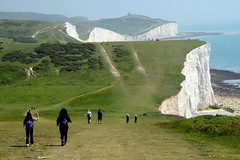 A Beautiful Walk (Alan1954) Tags: sevensisters east downs way cliffs chalk 2017 walking platinumpeaceaward sussex eastsussex southdowns
