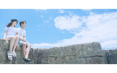 (lusunbo) Tags: taiwan hualien portrait girl couple