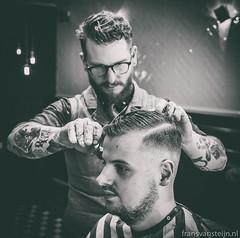 Barber Birdman (fransvansteijn) Tags: rood