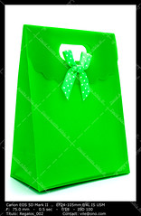 Green gift bag (__Viledevil__) Tags: gift bag anniversary birthday box carry celebrating celebration celebrations christmas container decoration decorative design gifts green object package paper present ribbon surprise valentine xmas giftbag