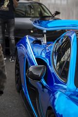 Blue Chrome McLaren P1 (jonnydouglas95) Tags: ferrari pagani huayra bc huayrabc hypercar arab cars love uk london belgrave square brexit
