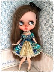 Prettiest dress I ever did see 💙