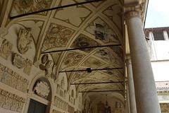... Cortile Antico palazzo del Bo' .. # 2 (antosti) Tags: italia padova cortileantico palazzodelbo galleria primopiano soffitto affrescato stemmi nobiliari architettura heritage