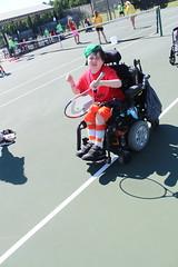 IMG_8496 (varietystl) Tags: anklefootorthotics tennis afos summercamp afobraces legbraces electricwheelchair wheelchair orthotics