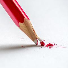 "Macro Monday ""Broken"" (peterbaird100) Tags: macromonday broken pencil"