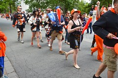 Alumni Following The Band In The P-Rade