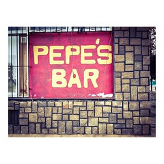 Pepe's Bar #autentico #spainisdifferent #spain #bar #cartel #pub #poster #sign #placard #signboard #show-bill #slurp #sign #poster #signs #print #posters #포스터 #posterart #happyhour #thirsty #cocktailbar #bartending (IMARCHI) Tags: pepes bar autentico spainisdifferent spain cartel pub poster sign placard signboard showbill slurp signs print posters 포스터 posterart happyhour thirsty cocktailbar bartending imarchi imarchicom photographer fotografo madrid photography photo foto iphone phoneography iphoneography mobile eyeem instagram