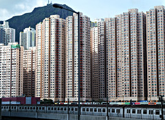 Urban density (austinjosa) Tags: city urban housing train hongkong kowloonbay 2017