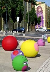 594-September'16 (Silvia Inacio) Tags: graffiti streetart portugal lisbon lisboa utopia63 bairropadrecruz bolas balls
