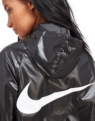 Shiny Babe (rainwearfetish) Tags: shiny jacket windbreaker regenjacke regenjas raincoat rainwear rainjacket glanz nylon