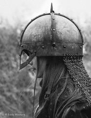 Lagertha (wouters.eddy) Tags: monochrome black white portrait viking lagertha sweden scandinavia history foteviken nikon