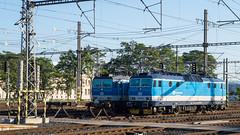 Eine 362 und eine 163 stehen in Praha hl.n abgestellt