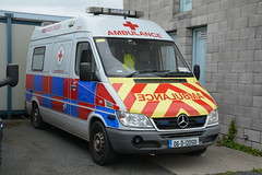 Irish Red Cross 2006 Mercedes Benz 316 CDI Sprinter Wilker Ambulance 06D120501 (Shane Casey CK25) Tags: irish red cross 2006 mercedes benz 316 cdi sprinter wilker ambulance 06d120501 icr volunteer medical emergency patient paramedic emt technician blue bluelights lights siren sirens flash flashing van battenberg