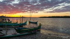 Medeiros Island - Sunrise (Cristofer Martins) Tags: sunset sunrise river island nature landscape landscapes ilha guaraqueçaba medeiros nascerdosol pôrdosol água céu mar lago paisagem barco
