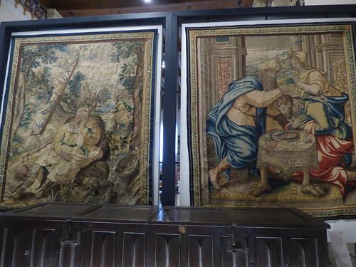 Hôtel-Dieu de Beaune - Salle Saint-Louis - tapestry
