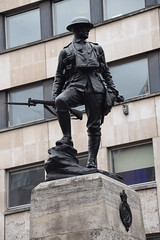 DSC_4455 City of London High Holborn The Royal Fusiliers War Memorial that was erected in 1922 (photographer695) Tags: city london holborn war memorial high the royal fusiliers that was erected 1922