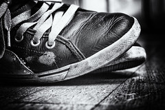 Ollie Shoes. (Gr⊙f: ⊙f the p⊙p) Tags: skate skateboarding shoes skateboardingshoes puma ollie bw vintage