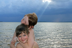My little rays of light (babyfella2007) Tags: lake monticello grant jason carson sun light cloud swimming water swim exploring fairfield county winnsboro child messianic boy young blue beach waterfront sc south carolina southern living garden gun goob good pretty storm ray rays sunlight beam outside