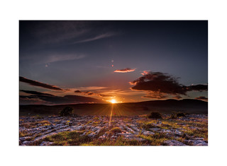 Sunset Behind Whernside - Explore 02.07.2017 - No.27