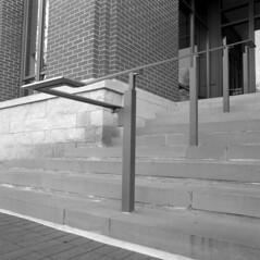 hrm (pavel photography) Tags: stairs pattern bwfilm blackandwhitefilm 6x6film film hasselblad hasselblad500cm planar80t ilford columbus mediumformatfilm mediumformat
