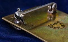 Bottoms Up (ertolima) Tags: bottomsup macromondays hmm jewelry pin pendant