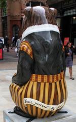 Shakesbear Rear (ahisgett) Tags: birmingham children's hospital charity wild art big sleuth 2017 bearmingham street sculpture