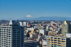 Mt. Fuji from Marine Tower (yiming1218) Tags: 横浜マリンタワー 横浜 マリンタワー yokohama 橫濱海洋塔 橫濱 sony architecture building japan japanese 日本 建築 sel2470gm gm ilce7rm2 a7rm2 a7r2 tower cityscape marinetower yokohamamarinetower mtfuji fujisan 富士 富士山 worldheritage 世界遺產 gmaster 海洋塔 mountfuji mountainfuji fuji mountain