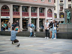 """Documenting the visit"" (Terje Helberg Photography) Tags: other candid citylife cityscape color model models people photosession photograper photograping photoshoot street streetphotography streetlife tourisme tourist tourists urban"