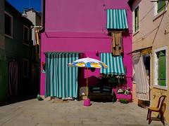 Dittsche macht Urlaub in Burano (Werner Schnell Images (2.stream)) Tags: ws dittsche bademantel burano venezia venedig venice