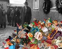 """""""The Gnome-o-Caust"""" (barry.kite@att.net) Tags: gnomes war holocaust wwii buchenwald concentrationcamps"""