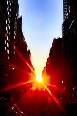 Manhattan Sunset (dannydalypix) Tags: gothamist gotham manhattan sunset newyorkcity nyc 72ndstreet dakotabuilding