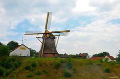 Dutch Landsape Mill (JaapCom) Tags: jaapcom landscape mill moulin molen mills molino clouds wapenveld de vlijt holland historical historisch netherlands
