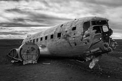 Entropy on the Beach (Ben Roffelsen Photography) Tags: sólheimasandur dc3 crash airplane abandoned