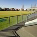Kozármisleny - futballpálya lelátó