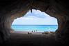 Calo Gonone, Sardegna - Cala Luna (GlobeTrotter 2000) Tags: cala calagonone calaluna europe gonone italy luna sardegna cave clear holidays olbia orosei sea seascape tourism travel turquoise visit water