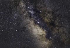 The Milky way (central bulb) (Zaccar_spirit) Tags: canon6d milkyway darknebula nebula darkhorse galacticbulb