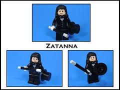 Zatanna (MrKjito) Tags: lego minifig super hero comics comic dc zatanna magic powers backward spells custom