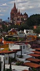 Parroquia de San Miguel Arcangel (rainy city) Tags: sanmigueldeallende mexico parroquiadesanmiguelarcangel