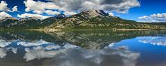 The Mirrors of Jasper Lake (michaelsabijon) Tags: reflection lake landscape jasper jaspernationalpark canoncanada canada150 eos7d sigma abigfave
