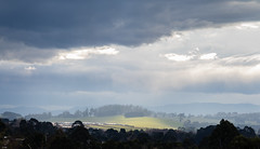 Passing rain Winters afternoon Warragul (laurie.g.w) Tags: passing rain winters afternoon warragul victoria australia storm cloud sky hills country landscape rural westgippsland