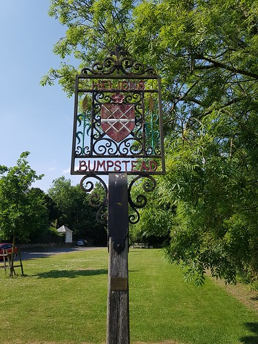 Helions Bumpstead Village Sign