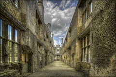 Kirby Hall 10 (Darwinsgift) Tags: kirby hall northamptonshire english heritage stately house home nikkor 19mm f4 pc e tilt shift nikon d810 multiple exposure hdr photomatix history elizabethan tudor architecture
