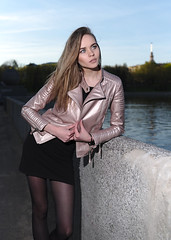 The girl on the embankment (zmvphoto) Tags: girl beautiful blonde city glamour fashion river portrait sigma35f14 offcameralighting speedlight sb700