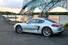Porsche Cayman S (xgrimace) Tags: porsche cayman caymans 2014 silver rhodiumsilver