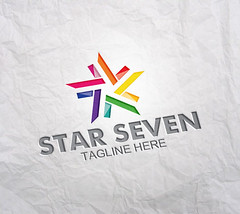 Star Seven V1 (Acongraphic) Tags: unity web blog chat community connections corporate generic groups internet lines link marketing media modern networking online people personalized relations services sharing socialmedia society software solutions star superstar colorful