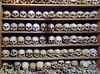 skulls of Meteora (smokykater - 600k+ views) Tags: skull skulls schädel meteora monk mönch greece dead bone knochen white great megalometeora megalo horrible
