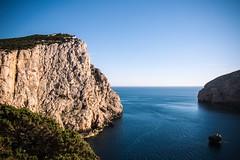 Capo Caccia - Alghero (Matteo Masia) Tags: capo caccia alghero sardegna landscape documentary sunrise island nature rock sea mare vegetation panorama matteo masia photography
