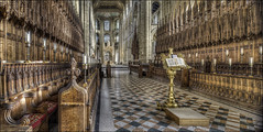 Peterborough Cathederal 22 (Darwinsgift) Tags: peterborough cathederal cambridgeshire hdr photomerge panorama nikkor pce 24mm f35 tilt shift interior church
