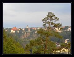 View from the bridge - Bechyňská duha. (Renata_Lipińska) Tags: most bridge bechyňskáduha widok view riverlužnice czechrepublic czechia landscape