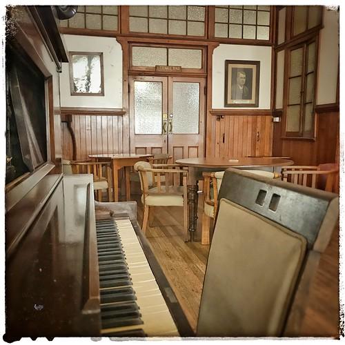 Yungaburra Hotel piano